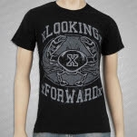 xLooking Forwardx Crab Black T-Shirt
