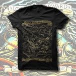 xLooking Forwardx Down With The Ship Black T-Shirt