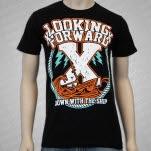 xLooking Forwardx X Ship Black T-Shirt