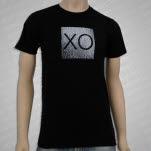XO Metallic Black T-Shirt