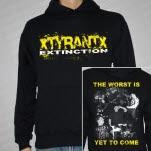 xTYRANTx Extinction Black Pullover