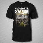 Years Since The Storm Album Art Black T-Shirt