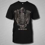 Years Since The Storm Bones Black T-Shirt
