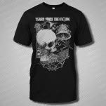 Years Since The Storm Skull Black T-Shirt