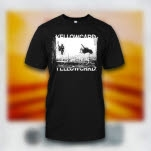 Yellowcard Live Photo Black T-Shirt