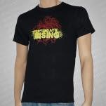 Yesterdays Rising Fancy Black T-Shirt