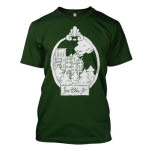 You Blew It Burning City Forest Green T-Shirt