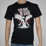 Your Name In Vain Angel Black T-Shirt