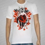 Your Name In Vain Heart Hand White T-Shirt