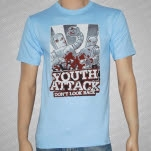 Youth Attack Dont Look Back Blue T-Shirt