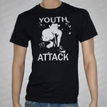Youth Attack Live Photo Black T-Shirt