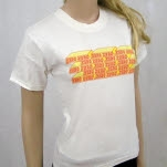 Zero Zero Bricks White T-Shirt